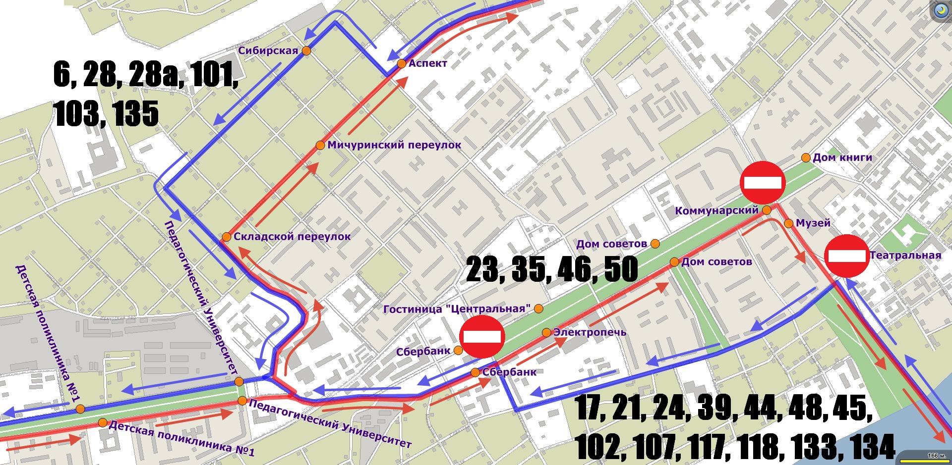 183 маршрут схема движения