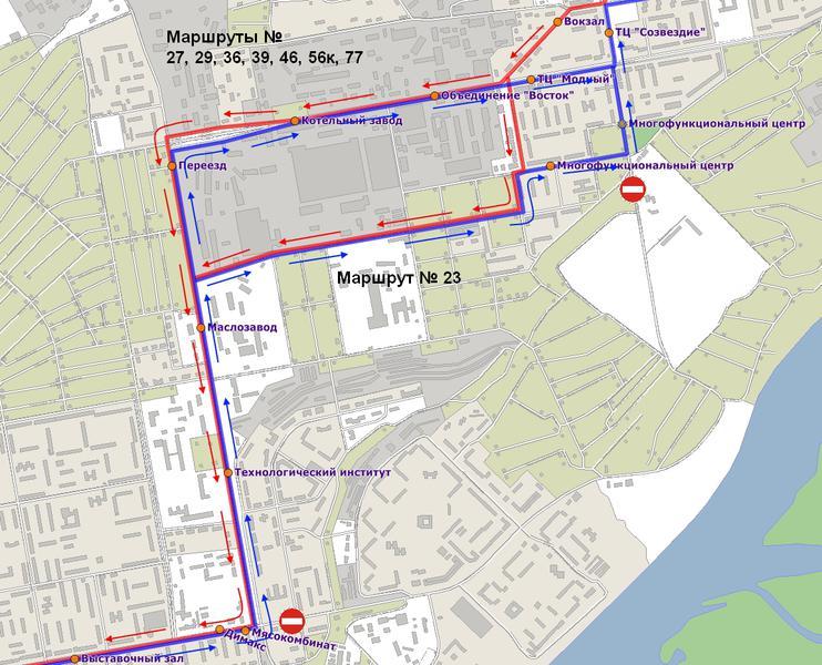 Схема проезда 118 маршрутки
